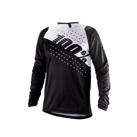 100% R-Core Youth Jersey Black